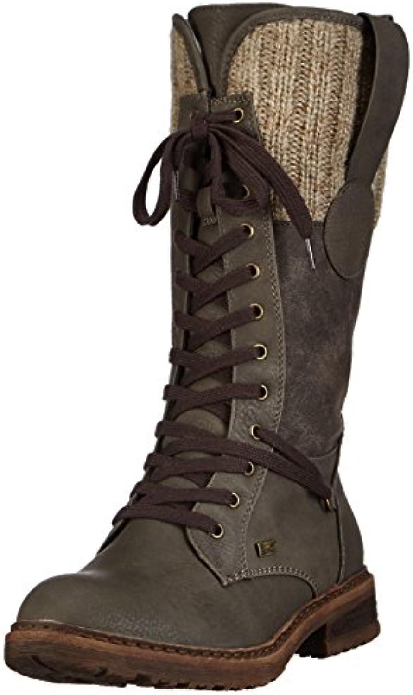 Rieker94730 - botas de caño alto mujer