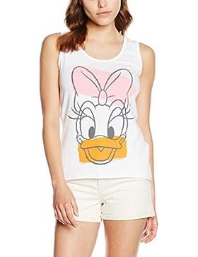 Disney Daisy Head - Camiseta Mujer