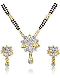 Atasi International Jewellery Rhinestone Set for Women (Multi-Colour)(MR2)