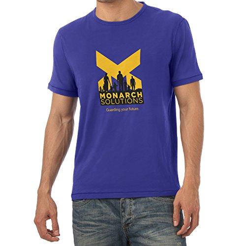 TEXLAB - Monarch Solutions - Herren T-Shirt Marine