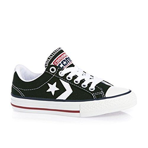 Converse  Sp Core Canv Ox,  Unisex-Erwachsene Sneakers Schwarz