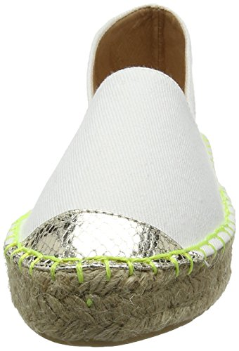 Miss Kg Dallas Ladies Mocassino Bianco (crema)