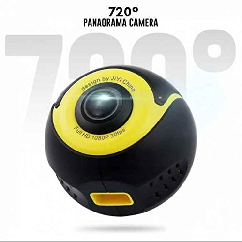 Full HD 360 Grad Freien Panorama Kamera Wifi Weitwinkelobjektiv Action Sport Kamera,kompakte moderne Blick,360 grad Kamera für Android Smartphone/Huawei/Samsung usw Samsung-kameras Wifi