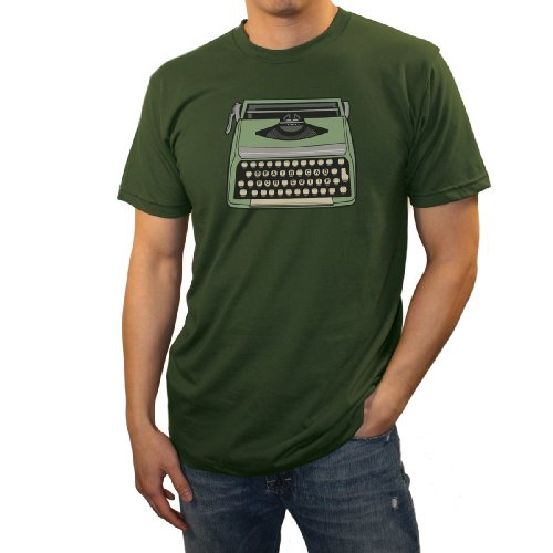 Mens Death Cab For Cutie Typewriter T-shirt Dark