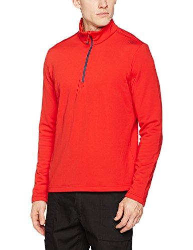 CMP Fleece Rolli Herren Shirt, Ferrari, 50, 3E15747 Damen Stretch Fleece Pullover