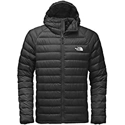 The North Face Water Repellent Trevail Men's Outdoor Down Jacket available in Tnf Black/Tnf Black - Medium