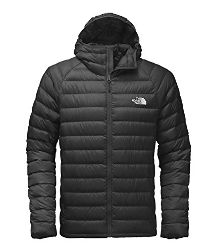 THE NORTH FACE M Trevail Hoodie Chaqueta, Hombre, Negro TNF Black, L