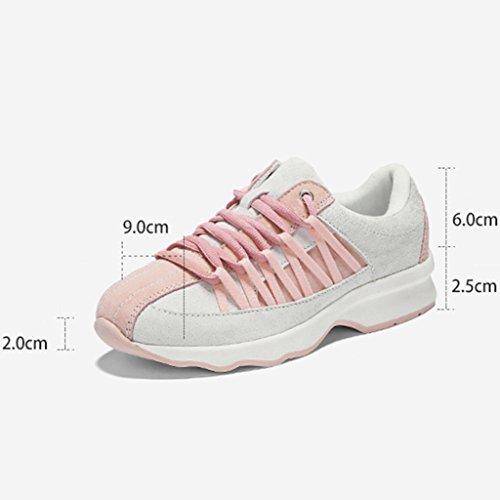 HWF Scarpe donna Scarpe sportive da corsa casual da donna sportive da primavera ( Colore : Nero , dimensioni : 36 ) Nero