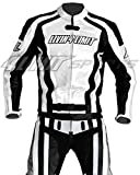 Motorrad Lederkombi 4LIMIT Sports LAGUNA SECA Motorradkombi Zweiteiler weiß-schwarz M