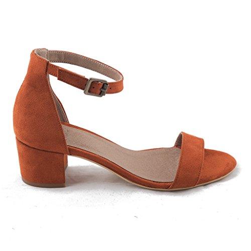 NAE Irene Orange - Damen Vegan Sandalen - 2
