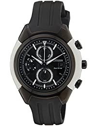 Citizen Eco-Drive Analog Black Dial Men's Watch CA0286-08E