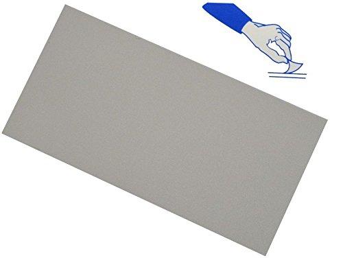 selbstklebender Reparatur Aufkleber Flicken - Nylon - grau / hellgrau - wasserabweisend - für...