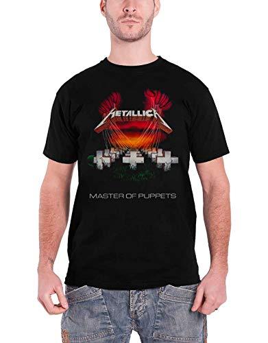 Metallica T Shirt Master of Puppets European Tour 1986 offiziell Herren Nue Tour Master