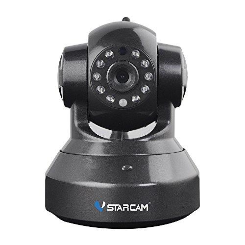 Wireless-cctv-kameras (VStarcam IP Kamera Wireless Home Monitoring WiFi CCTV Security System, 720P Kameras mit Nachtsicht, IR-CUT Dual Filter Automatische Umschaltung, schützen Sie Ihre Sicherheit Tag und Nacht (C7837WIP-B))