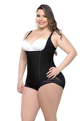 Babyonlinedress® Shapewear Damen Mieder Body Stark figurformender Shaper mit Bauch weg Effekt Brustfreier Formbody Unterwäsche
