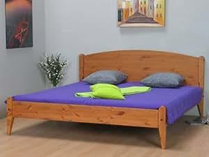 doppelbett mayflower kiefer ehebett 180x200 bett cognac. Black Bedroom Furniture Sets. Home Design Ideas