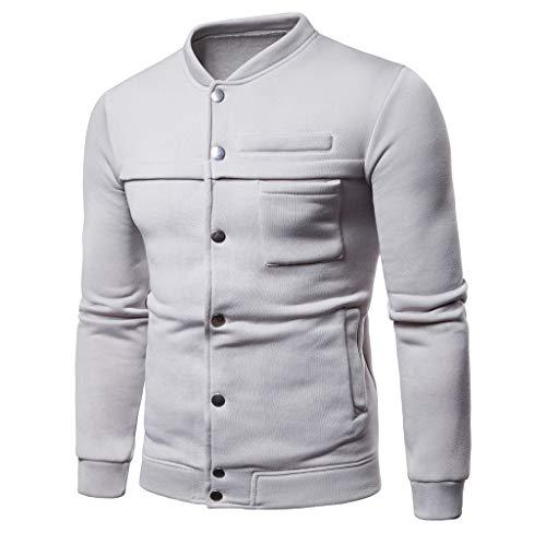 Luckycat Herren Reine Farbe Pullover Langarm Kapuzen Sweatshirt Tops Bluse Mode 2018