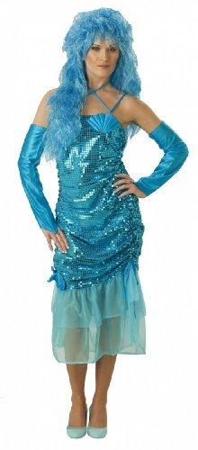 "Karneval tolles Damen-Kostüm Fasching ""Wassernixe"", Größe:38 (Tolle Party Kostüme)"