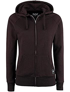 Black Premium by EMP Red Easy Felpa jogging donna bordeaux