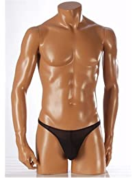 Manstore 2-06165 - Hysterie - String Push up - Homme - Noir - Taille M