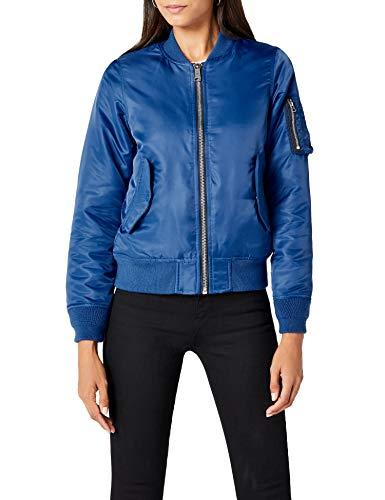 Brandit Damen Jacke Marcy Girls Bomberjacket Blau (Moon 160) Large