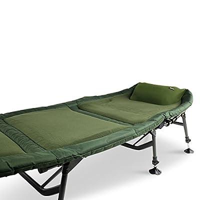 Koala Products Airlite Fleece Alloy 6 Leg Bedchair by KOALA PRODUCTS