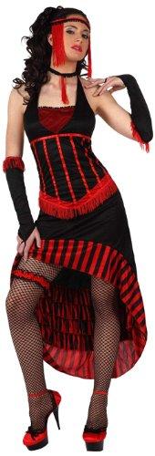 Imagen de atosa  disfraz de cabaret para mujer, talla l m/l  10189