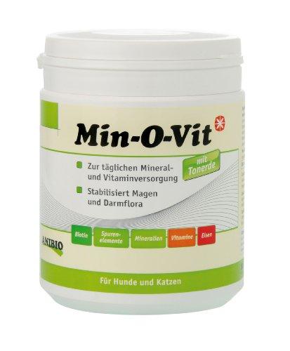 Vit Eisen (Anibio Min-O-Vit 500 g Ergänzungsfutter für Hunde und Katzen, 1er Pack (1 x 0.5 kg))