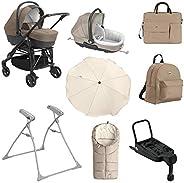 Cam Combi Tris Baby Stroller Bundle - Beige, Pack of 1