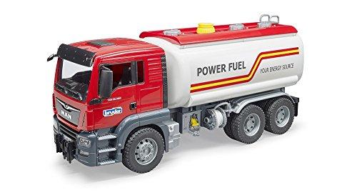 Bruder 03775 - MAN TGS Tankwagen (Spielzeug-lkw Tankwagen)
