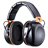 Tacklife HNRE1 Ear Defenders 34dB SNR Double Layers Noise Dampening Ear Muffs Hearing