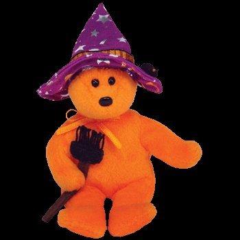 Ty Beanies Halloweenie Beanie Pocus, der Halloweenbär 15 cm (6 Zoll)