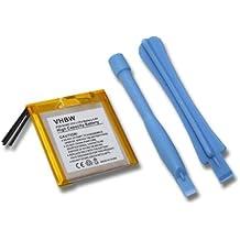 BATERÍA POLÍMERO LITIO compatible con APPLE iPod Nano 3rd 4GB, iPod Nano 3rd 8GB, iPod Nano G3 4GB, iPod Nano 8GB sustituye 616-0337 + herramientas