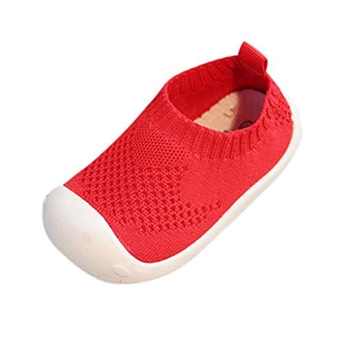 Beikoard Unisex-Kinder Schuhe Mädchen Jungen Candy Farbe Mesh Sportschuhe Laufschuhe Freizeitschuhe aus Stretch-Stoff Baby Krabbelschuhe Wanderschuhe Sommerschuhe - Herren-stretch-walker