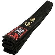 Ceinture Noire brodée Judo Noir Sangle avec Une Broderie, Judo Ceinture  dorées 83f4343d543