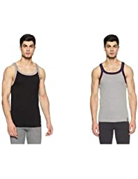 Jockey Men's Cotton Vest - Pack of 2