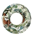 Majea super weicher Damen Loop Schal viele Farben Muster Schlauchschal Halstuch in aktuellen Trendfarben (grün 15)