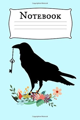 Notebook: Crow Homework Book Notepad Composition and Journal Diary por Retrosun Designs