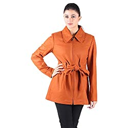 Owncraft Womens Tan Wool Coat 2