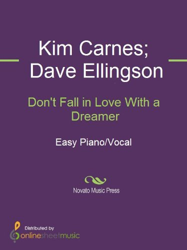Dont Fall In Love With A Dreamer Ebook Dave Ellingson Kenny