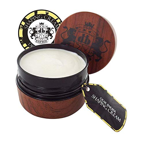 Soft-hold Gel (Dear Barber Men's Hair Shaping Cream, Natural look, Medium Hold, Medium Shine 100ml)