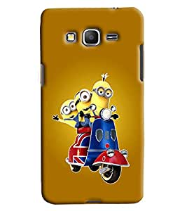 Clarks Printed Designer Back Cover For Samsung Galaxy Grand Prime