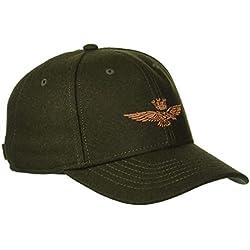 Aeronautica Militare Cappellino, Gorra de béisbol para Hombre, (Verde Bosco 39239), Talla única