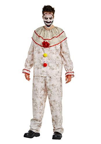 Freak Kostüm Clown Show - American Horror Story: Freak Show Twisty The Clown Adult Costume, Medium 40