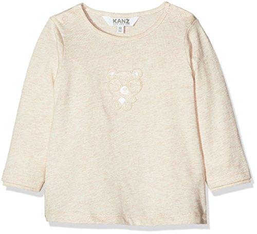Kanz Unisex Baby T-Shirt 1/1 Arm, Rosa (Rainy Day Melange 8194), 68