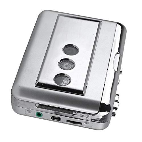 Zu MP3 Tape Converter Musik Player Audio Für PC Silber ()