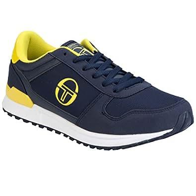 Sergio Tacchini Metric Men Navy/Yellow Running Trainers