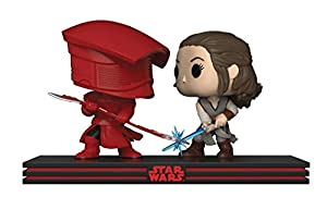 Funko - Star Wars The Last Jedi Figure Movie Moments - Rey and Praetorian Guard Estatua collezionabile, 32557