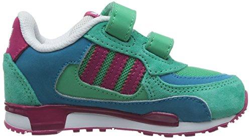 Adidas - Adidas Zx 850 CF I Scarpe Bambina Verde Acqua Pelle Tela M18024 - mint / pink / türkis