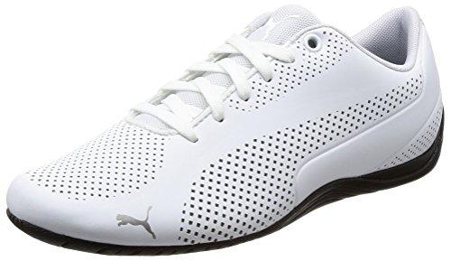 Puma-Unisex-Drift-Cat-Ultra-Reflective-White-Sneakers-8-UKIndia-42-EU36381403